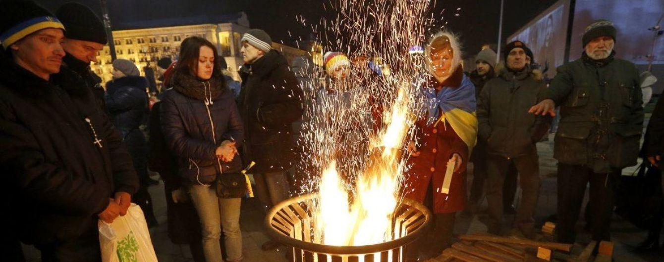 В Україні відзначають шосту річницю Революції гідності