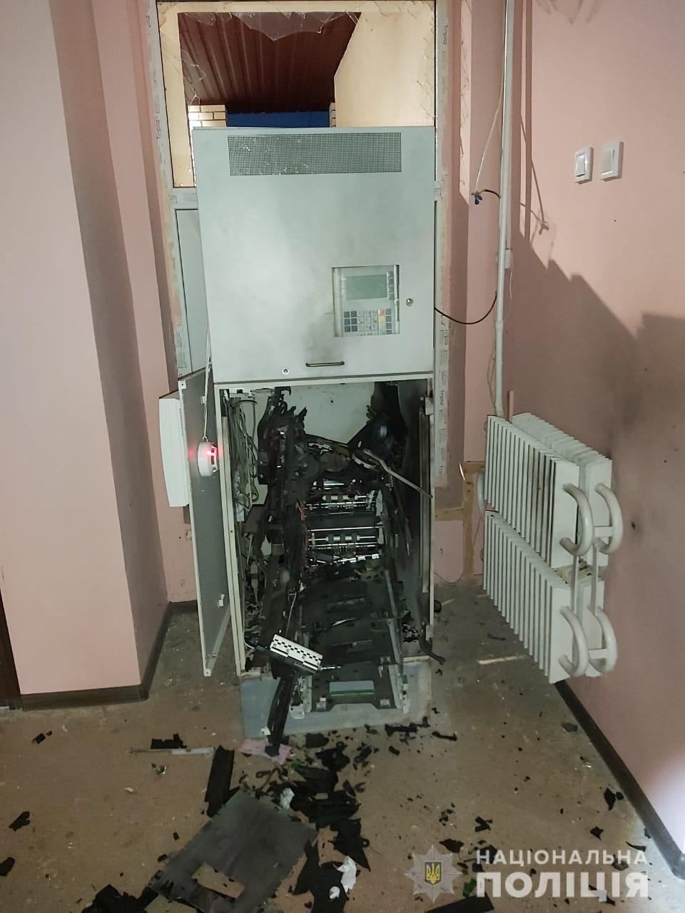 підрив банкомат