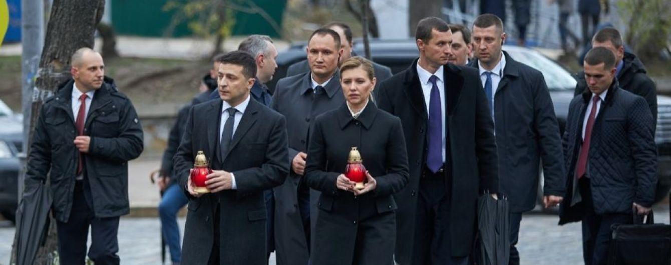 Зеленський вшанував пам'ять загиблих на Євромайдані