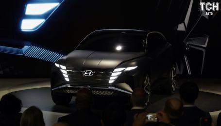 Hyundai представила футуристическую версию Tucson