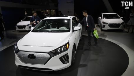 Электрокар Hyundai Ioniq представили после обновлений