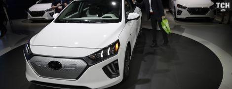Електрокар Hyundai Ioniq представили після оновлення