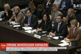 В Гааге проходят слушания по делу о захвате год назад Россией украинских судов