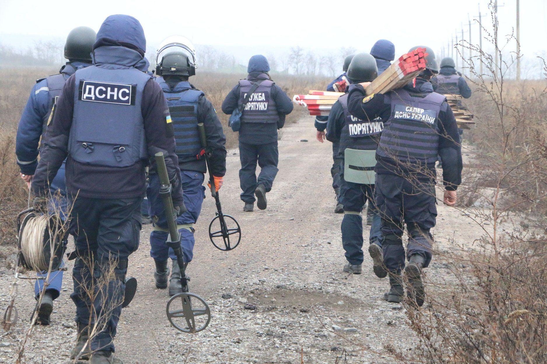 Донбас, ООС, розмінування_1