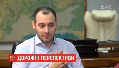 """Очільник """"Укравтодору"""" обіцяє перетворити трасу """"Київ - Одеса"""" на європейський автобан"""