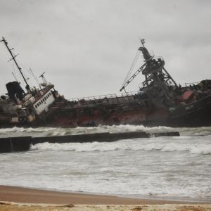 """Опубликовано видео аварии танкера """"Делфи"""" в Одессе"""
