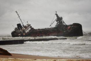 """Опубліковане відео аварії танкера """"Делфі"""" в Одесі"""