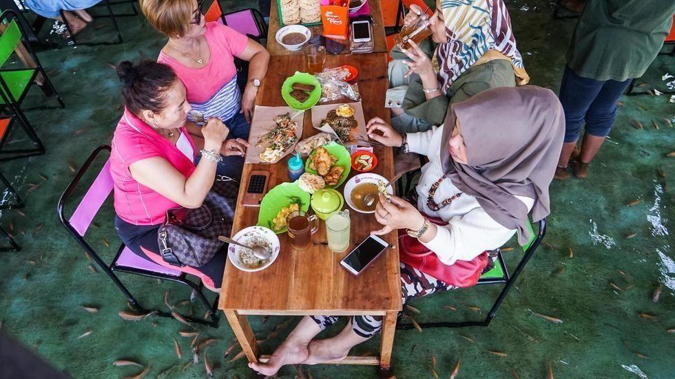 ресторан индонезия