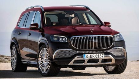 Mercedes официально представил элитный внедорожник Maybach