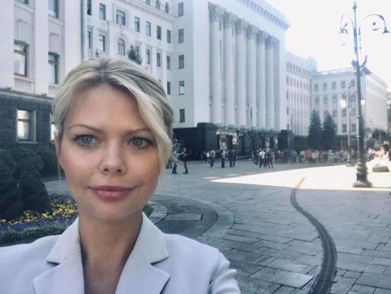 """Скандальна Клітіна розповіла, хто придумав ідею партії """"Україна проти корупції"""""""