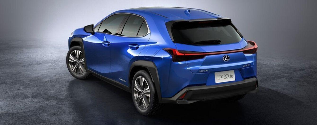 Lexus раскрыл подробности европейской версии своего первого электрокара