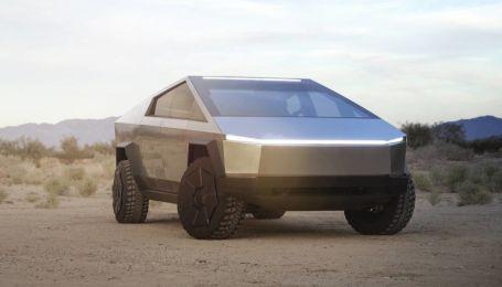 В Сеть попало видео с салоном Tesla Cybertruck
