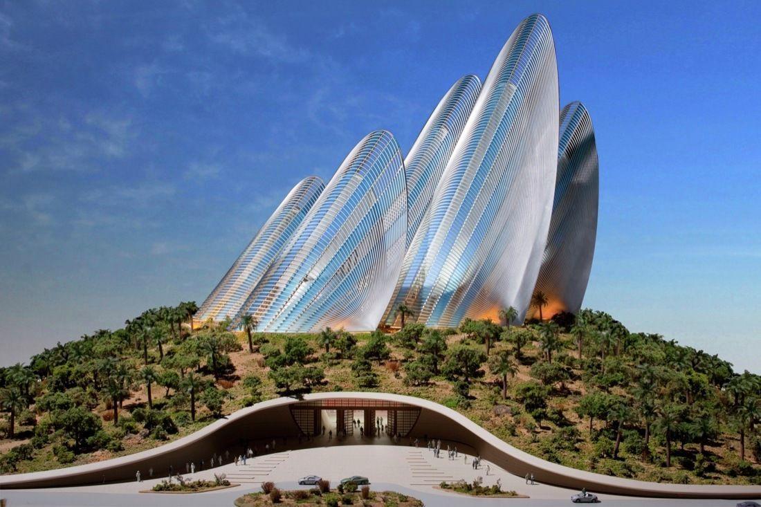 Абу-Даби национальный музей Заеда