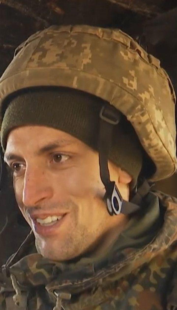 Первые морозы на Донбассе: как бойцы переживают холод