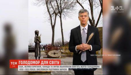 В США, Канаде, Великобритании и Литве напомнили о Голодоморе и выразили поддержку Украине