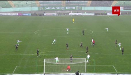 Карпаты - Олимпик - 1:0. Видео гола Назарины
