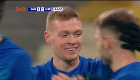 Динамо - Маріуполь – 2:0. Відео голу Циганкова