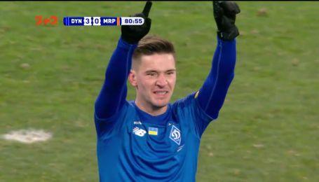 Динамо - Мариуполь - 3:0. Видео гола Вербича