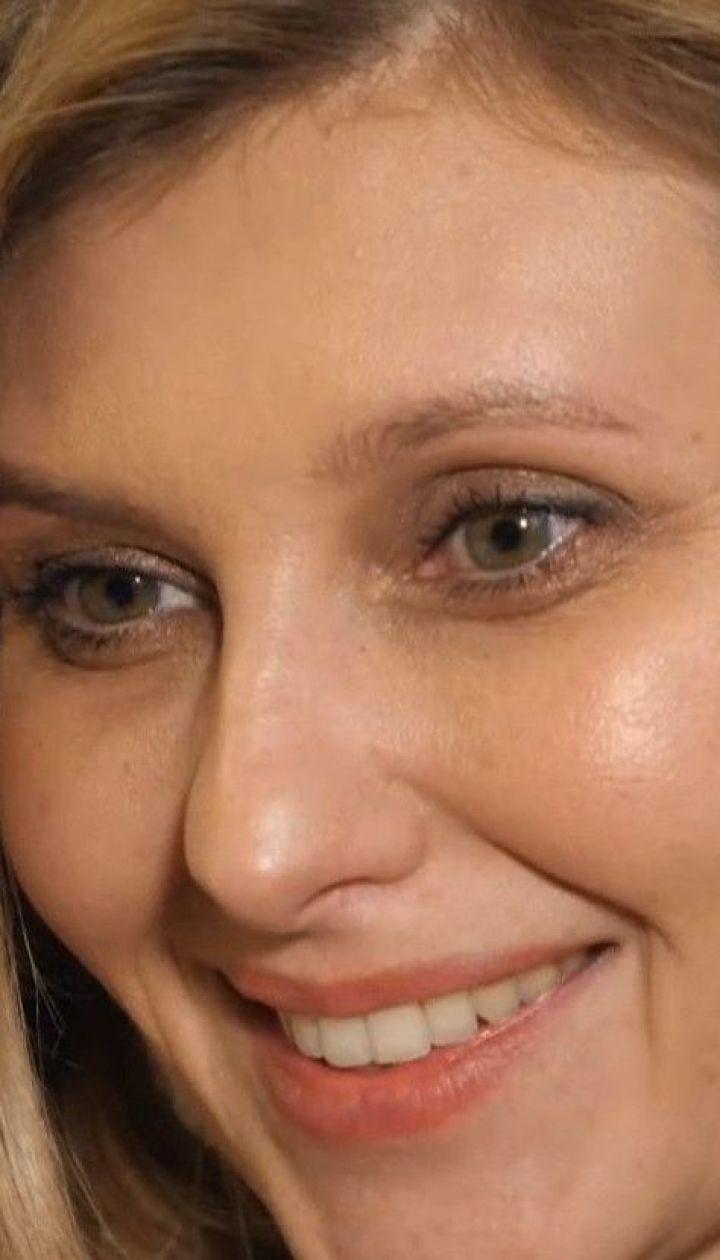 Эксклюзив ТСН.Тижня: Елена Зеленская рассказала о своих первых шагах в новом статусе