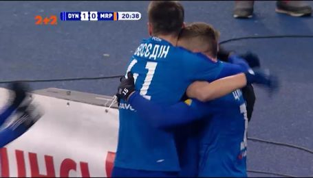 Динамо - Мариуполь - 3:0. Видео-обзор матча