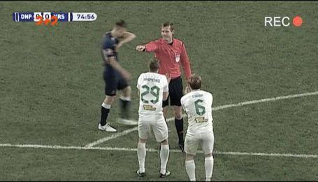 СК Дніпро-1 - Ворскла - 1:0. Відео-огляд матчу та розбір скандального епізоду з пенальті