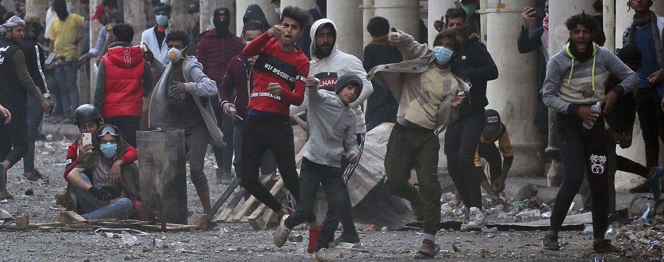 В Іраку за один день антиурядових протестів загинули 13 людей