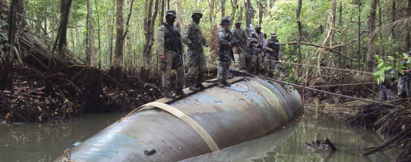 У Європі вперше затримали підводний човен з 3000 кг кокаїну