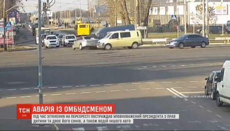 Поехал на красный свет: Николай Кулеба попал с двумя сыновьями в ДТП