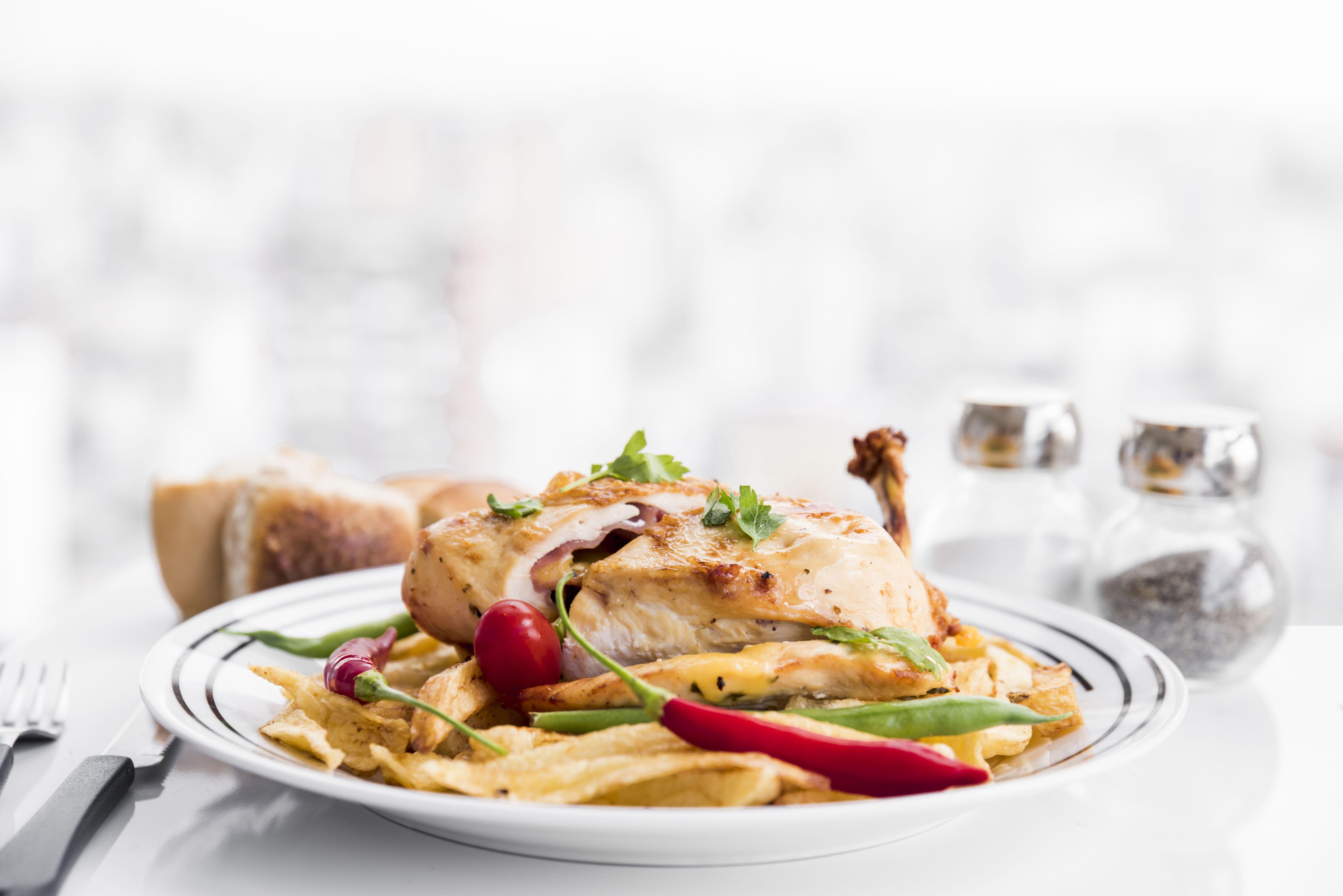 Вечеря, їжа, курка