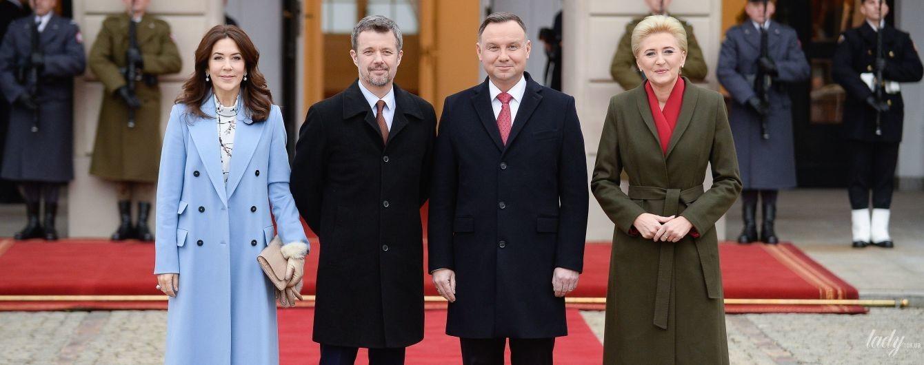 Одна другой краше: кронпринцесса Мэри и первая леди Польши встретились на приеме