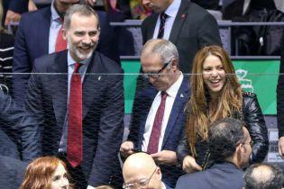 На трибунах с испанским монархом: Шакира и король Филипп VI посетили теннисный турнир