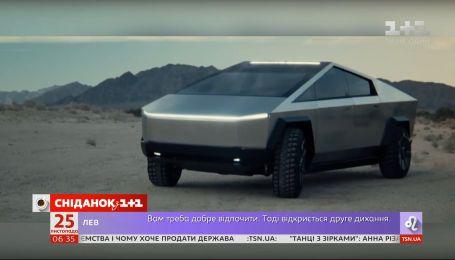 Нова Тесла: чим вразив новий кібертрак Ілона Маска