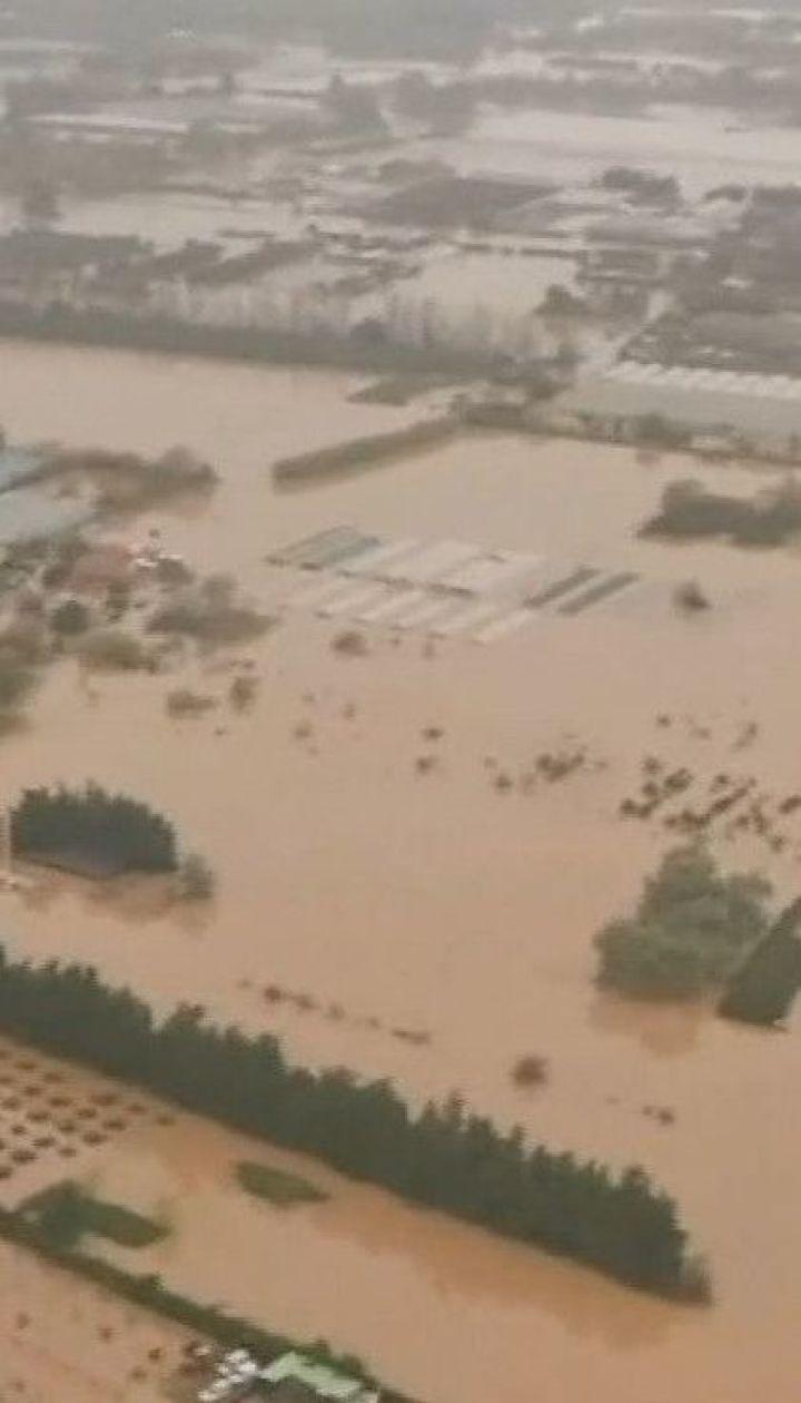 Сильное наводнение во Франции унесло по меньшей мере жизни двух человек