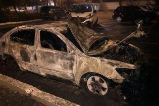 Неизвестный сжег машину руководителя Одесской таможни