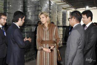 Какой необычной образ: королева Максима приехала с визитом в Пакистан