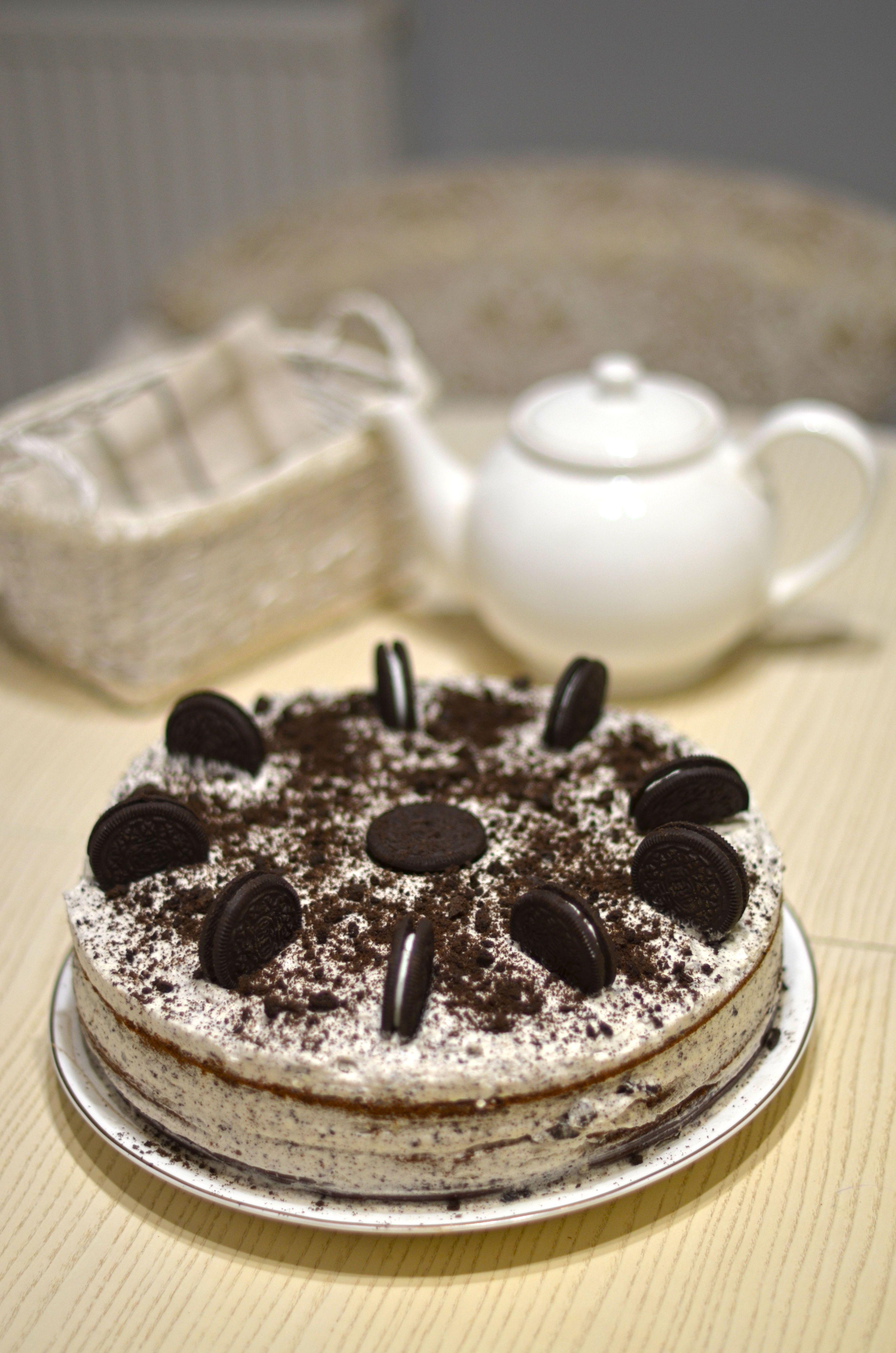 """Торт """"Орео"""", для блогів"""