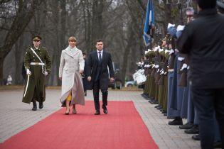 Зеленский и Кальюлайд договорились сотрудничать в области электронного управления