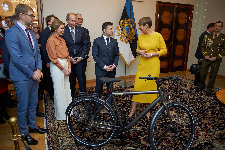 велосипед Зеленському