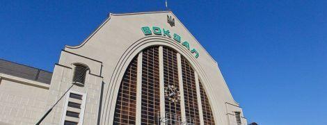 В Киеве на железнодорожном вокзале установили зарядку для электрокаров