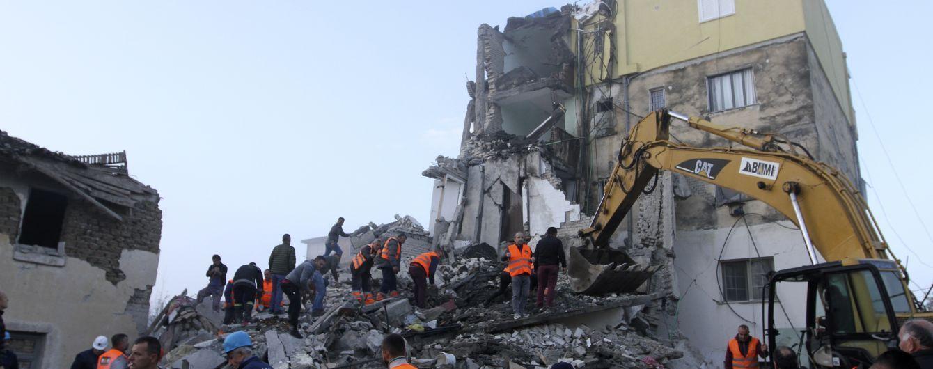 В Албанії зросла кількість загиблих внаслідок одного з найпотужніших землетрусів у країні