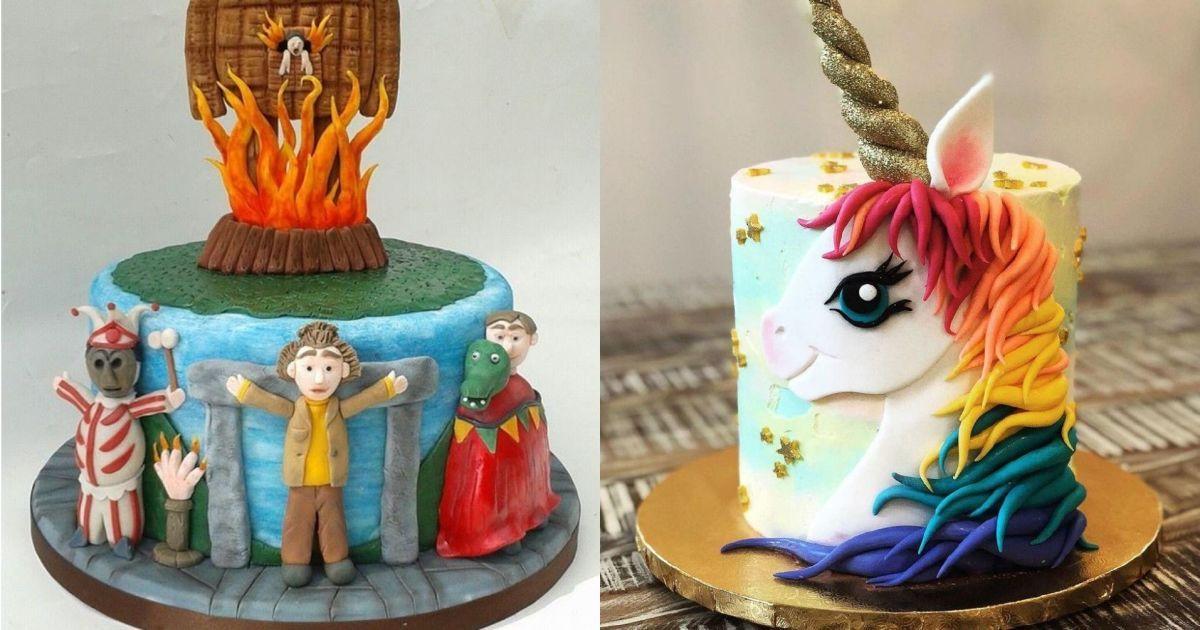 У формі єдинорога чи з підсвіткою: у США юзери хизуються дивними тортами до #NationalCakeDay
