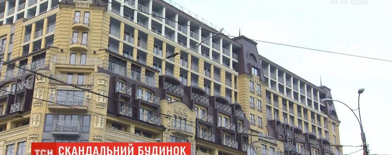 Скандальная многоэтажка на Подоле: в КГГА говорят, что готовой проектной документации здания не имеют