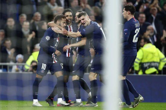 """Два м'ячі за три хвилини. ПСЖ вирвав нічию у матчі з """"Реалом"""" в Мадриді"""