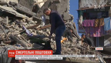Уже 20 людей загинули унаслідок потужнішого землетрусу в Албанії