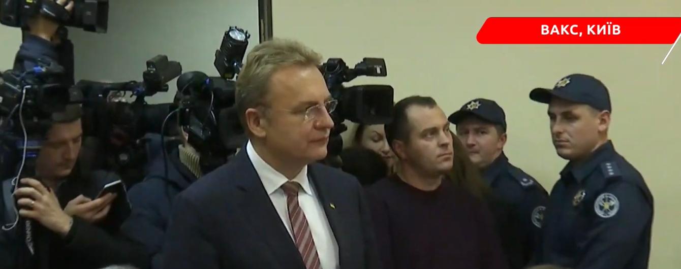 В Киеве выбирают меру пресечения мэру Львова Садовому