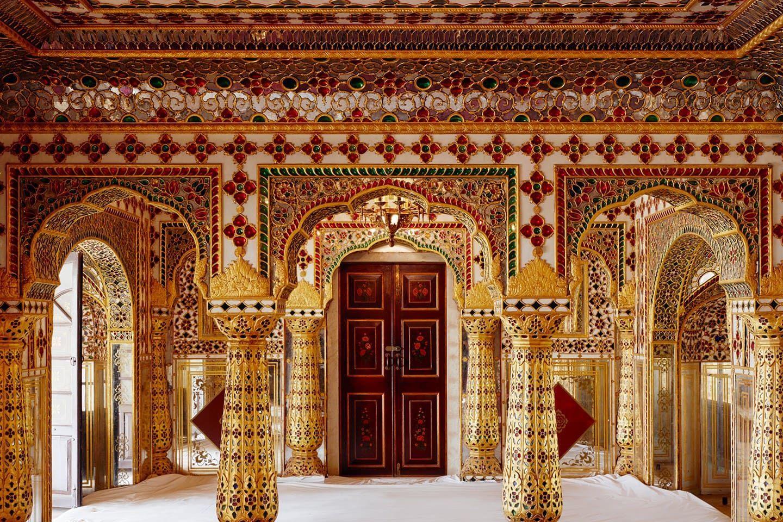Королевский дворец в Индии