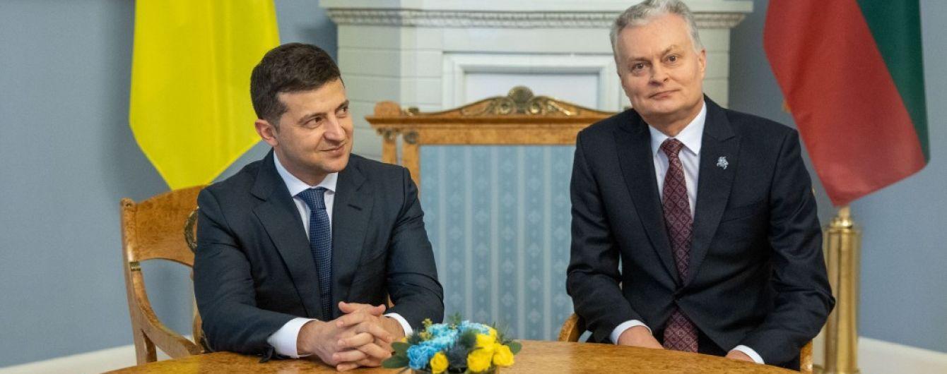 """Президент Литвы дал Зеленскому совет про """"уступки"""" перед """"нормандской"""" встречей"""