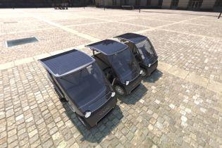 """Солнечный"" электрокар Squad пустили в продажи за 5,7 тысячи евро"