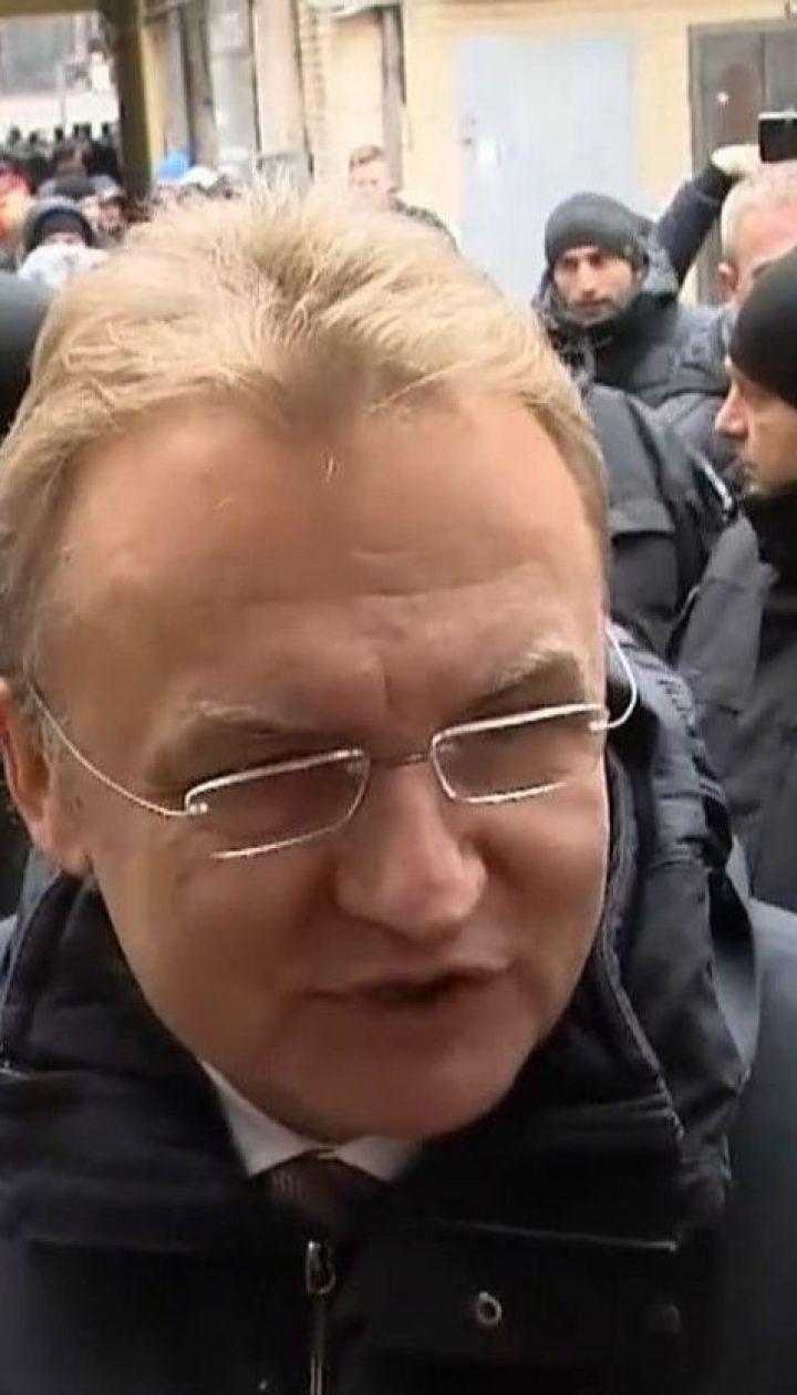 Прокуратура просит для Садового залог в 50 миллионов гривен