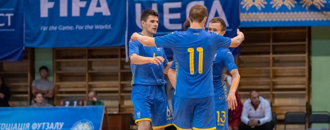 Збірна України з футзалу завершила кваліфікацію ЧС-2020 нічиєю з французами